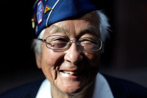 Susumu Ito, 90, was part of an all-Japanese unit in World War II that was segregated from other American soldiers.